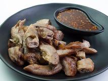 Zamyka W górę Asortowanego wyśmienicie piec na grillu mięsa Zdjęcie Royalty Free
