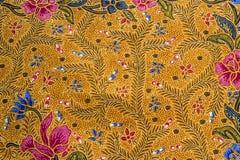 Zamyka w górę błękitnego i czerwonego kwiatu wzoru Fotografia Royalty Free