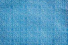 Zamyka w górę błękitnego węgla papieru tła i tekstury zdjęcie royalty free