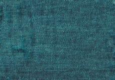 Zamyka w górę błękitnej drelichowej tekstury z pustą kopii przestrzenią Zdjęcie Royalty Free
