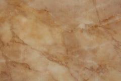 Zamyka w górę beżu marmuru tekstury naturalnego wzoru Obrazy Royalty Free