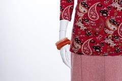 Zamyka w górę braceletes na mannequin ręce Fotografia Stock