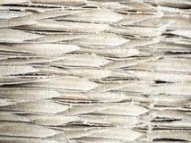 Zamyka w górę brown panwiowego kartonu, abstrakcjonistycznego tła i tex, Zdjęcie Stock