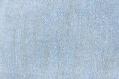 Zamyka w górę cajgu tła, błękitna drelichowa cajg tekstura Obraz Royalty Free