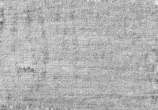 Zamyka w górę czarny i biały drelichowej tekstury z pustą kopii przestrzenią Obraz Royalty Free