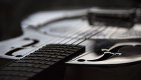 Zamyka w górę dobro gitary zdjęcie stock