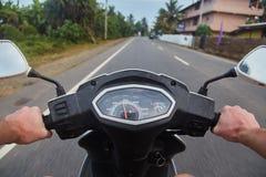 Zamyka w górę fotografii roweru speedo fotografia royalty free