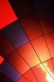 Zamyka w górę gorące powietrze balonu Obrazy Stock
