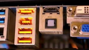 Zamyka w górę komputerowego narzędzia Płyta główna z wideo zbiory