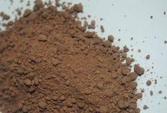 Zamyka w górę makro- brązu cacao obraz royalty free