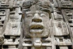 Zamyka W górę Maskowej świątyni Fotografia Royalty Free