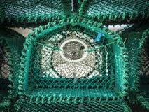 Zamyka W górę Nowego homara garnka fotografia stock