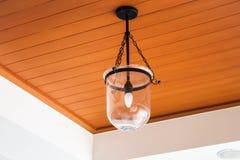 Zamyka w górę nowej nowożytnej lampy Fotografia Stock