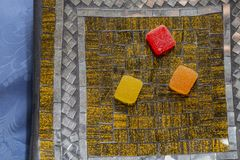 Zamyka w górę owocowych galaret różnorodni kolory Obraz Royalty Free