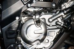 Zamyka w górę Parowozowego motocyklu sporta (duży rower) Zdjęcia Royalty Free