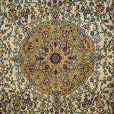 Zamyka w górę Perskiego dywanu fotografia royalty free