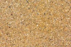 Zamyka w górę piaska tła dla mieszanka betonu w budowie przemysłowej Fotografia Royalty Free