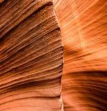 Zamyka w górę piaskowcowych formacji w szczelina jarze obrazy stock