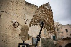 Zamyka W górę Plemiennej maski obraz royalty free