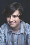 Zamyka w górę portreta przystojna chłopiec Obraz Royalty Free
