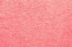 Zamyka w górę różowej tkaniny tekstury Zdjęcia Stock