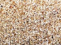 Zamyka w górę Rice przy świeżym miejscowego rynkiem zdjęcia stock