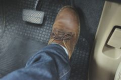 Zamyka w górę Rzemiennego buta zdjęcia stock