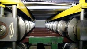 Zamyka w górę strzału ciężkiego fabrycznego maszynowego narzędzia przy pracą zbiory