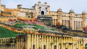 Zamyka w górę strzału Jaipur bursztynu fort