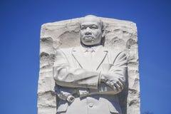 Zamyka w górę strzału Martin Luther King pomnik w washington dc KOLUMBIA, KWIECIEŃ - 7, 2017 - washington dc - Obrazy Stock