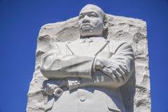 Zamyka w górę strzału Martin Luther King pomnik w washington dc KOLUMBIA, KWIECIEŃ - 7, 2017 - washington dc - Zdjęcie Royalty Free