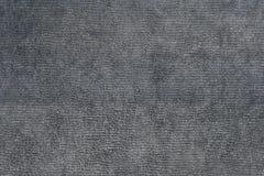 Zamyka w górę strzału szarego microfiber sukienna tekstura dla tła Zdjęcie Stock