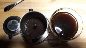 Zamyka w górę strzału Wietnam kawy obraz stock