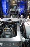Zamyka w górę szczegółu nowy ciężarowy silnik Obraz Royalty Free