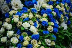 Zamyka W górę Sztucznego kwiatu zdjęcia royalty free