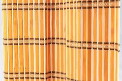 Zamyka w górę tła od żółtego bambusa Obraz Royalty Free