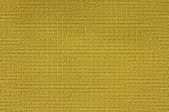 Zamyka W górę tło wzoru żółta Tekstylna tekstura, Abstrakcjonistyczna kolor tkaniny sieci wzoru tekstura Zdjęcie Stock