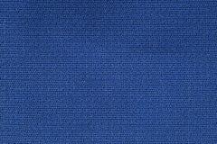 Zamyka W górę tło wzoru błękitna Tekstylna tekstura, Abstrakcjonistyczna kolor tkaniny sieci wzoru tekstura Fotografia Royalty Free