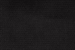 Zamyka W górę tło wzoru czarna Tekstylna tekstura, Abstrakcjonistyczna kolor tkaniny sieci wzoru tekstura Obrazy Royalty Free