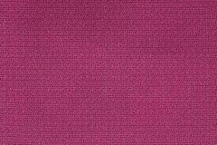 Zamyka W górę tło wzoru różowa Tekstylna tekstura, Abstrakcjonistyczna kolor tkaniny sieci wzoru tekstura Obraz Royalty Free