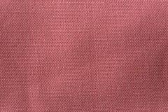 Zamyka w górę tekstury sukienny materiał Tkaniny powierzchnia z pościel wzorem Bawełnianej tkaniny tło obrazy stock
