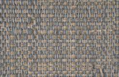 Zamyka W górę Tkanego Tekstylnego tła zdjęcie stock