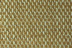 Zamyka W górę Tkanego Tekstylnego tła fotografia stock