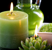Zamyka w górę widok aromatherapy życie Zdjęcia Royalty Free