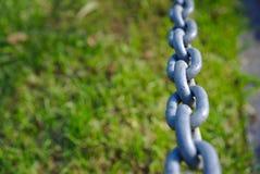 Zamyka w górę widoku łańcuchy zdjęcie stock