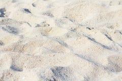 Zamyka w górę widoku plaża Zdjęcia Royalty Free