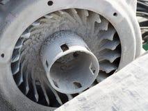 Zamyka w górę wyposażenie betonu krajacza maszyny fotografia stock