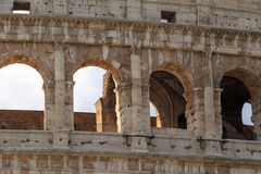 Zamyka w górę Colosseum widoku Obrazy Royalty Free