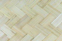 Zamyka w górę drewniany bambusowy patern Zdjęcia Royalty Free