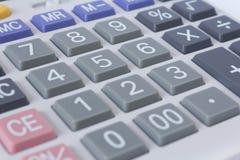 Zamyka w górę kalkulatora Zdjęcie Stock